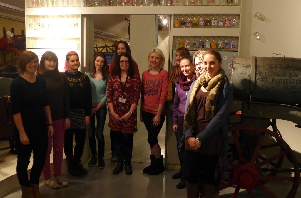 Guest Post: Phillippa Heath on the student panel running a 1951 Vintage Night at MERL