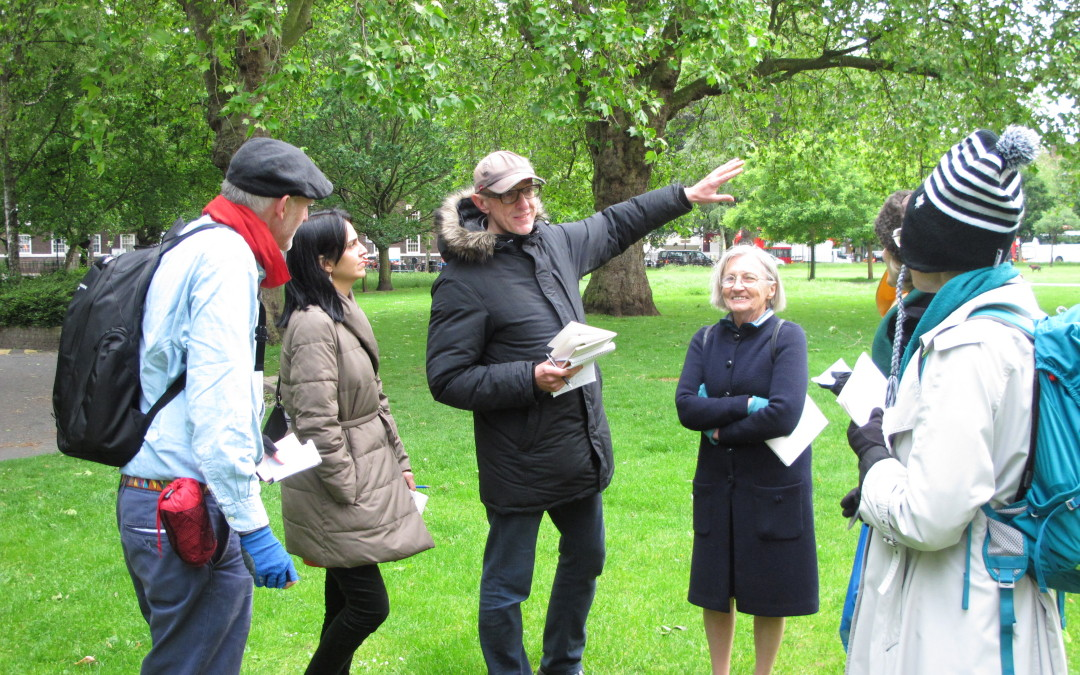 Event idea: Walkshops creative guided tours around your area
